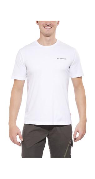 VAUDE Brand Kortærmet T-shirt Herrer hvid